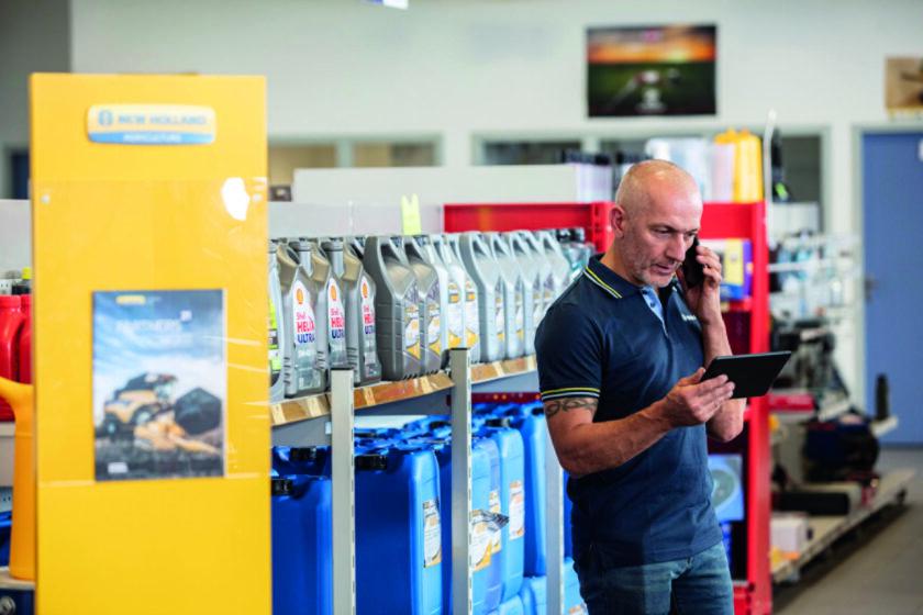 New Holland aggiorna MyPLM Connect Farm deal
